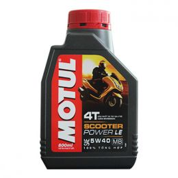 Nhớt Motul Scooter Power LE 5W40 0.8L