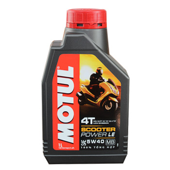 Nhớt Motul Scooter Power LE 5W40 1L